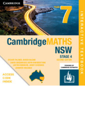 Cambridge MATHS NSW: 7 - Interactive CambridgeGO Only [Registration Card]