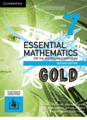 Essential Mathematics GOLD For The Australian Curriculum: 7 - Text + Interactive CambridgeGO