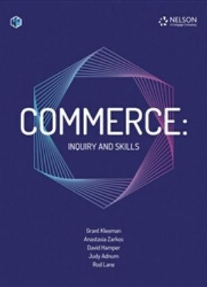 Commerce:  Inquiry and Skills [Text + NelsonNet]