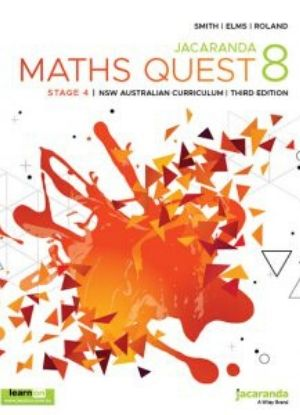 Jacaranda Maths Quest NSW:  8 [Text + LearnON]