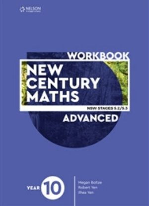 New Century Maths: 10 Advanced Stages 5.2/5.3  [Workbook]