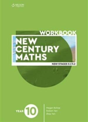 New Century Maths 10 Stages 5.1-5.2 [Workbook] - 9780170453486