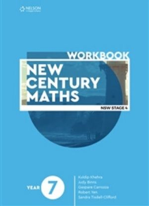 New Century Maths 7 [Workbook] - 9780170453127