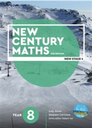 New Century Maths:  8  [Text + NelsonNet]