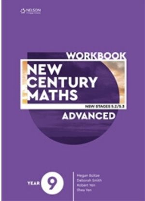 New Century Maths:  9 Advanced Stages 5.2/5.3  [Workbook]