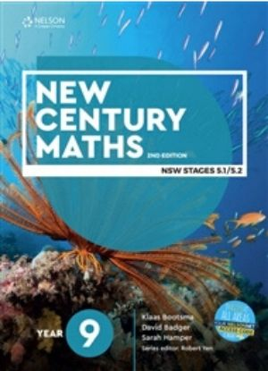 New Century Maths 9 Stages 5.1-5.2 [Text, NelsonNet + Workbook] - 9780170302685
