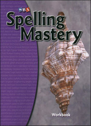 SRA Spelling Mastery Level D  - Student Workbook