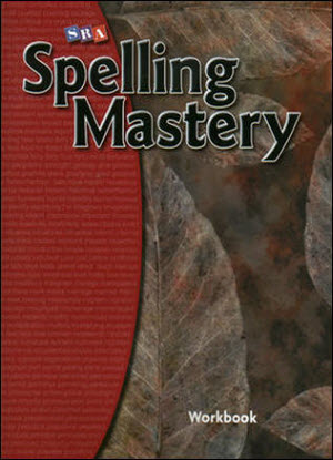 SRA Spelling Mastery Level F  - Student Workbook