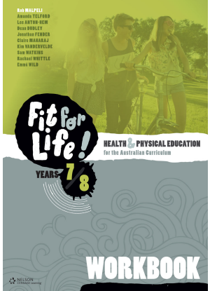 Nelson Fit for Life!  Year 7 & 8 - Workbook