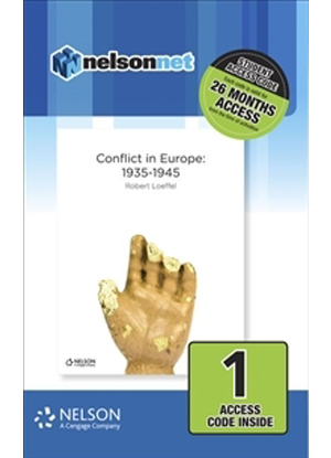 Nelson Modern History: Conflict in Europe 1935 - 1945 [NelsonNet Only]
