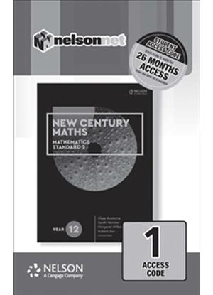 New Century Maths: 12 - Mathematics Standard 2 [NelsonNet Only]