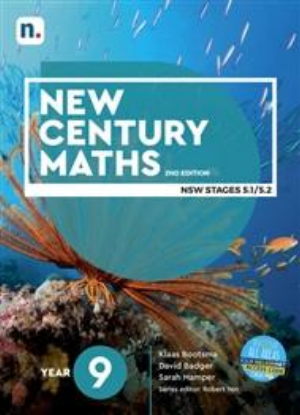 New Century Maths:  9 Stages 5.1/5.2  [Text + NelsonNet]