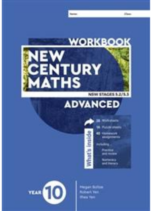 New Century Maths: 10 Advanced Stages 5.2/5.3  [Workbook]