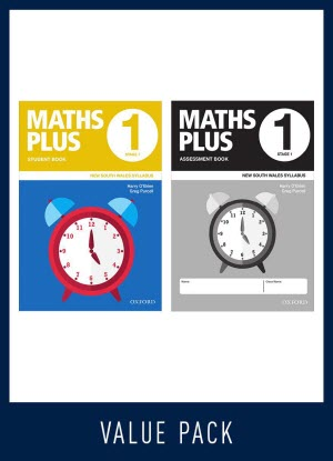 Maths Plus NSW:  1 - Student and Assessment Book Value Pack