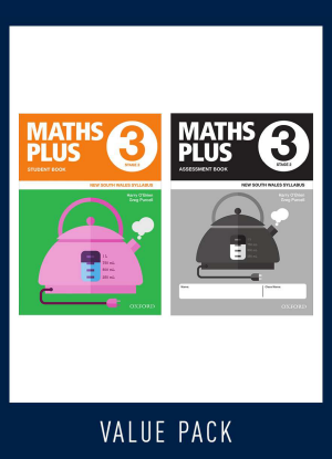 Maths Plus NSW:  3 - Student and Assessment Book Value Pack