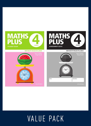 Maths Plus NSW:  4 - Student and Assessment Book Value Pack