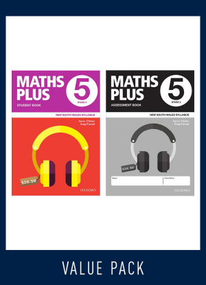 Maths Plus NSW:  5 - Student and Assessment Book Value Pack