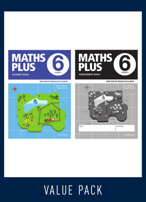 Maths Plus NSW:  6 - Student and Assessment Book Value Pack