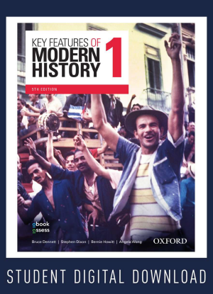 Key Features of Modern History:  1 - Year 11 [obook assess Multi Only]