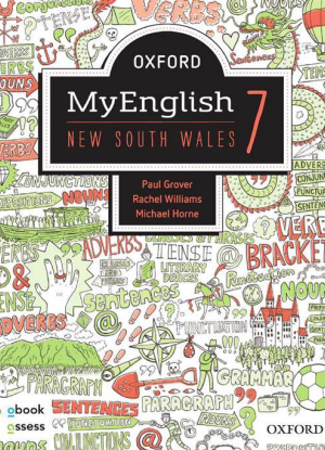 NSW Oxford MyEnglish: 7 - Student book + oBook assess