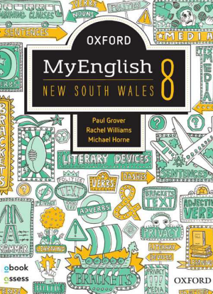 NSW Oxford MyEnglish: 8 - Student book + oBook assess