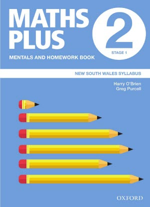 Maths Plus NSW:  2 - Mentals and Homework Book