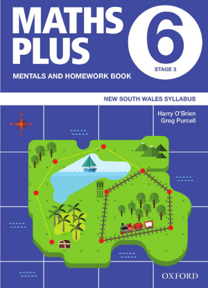 Maths Plus NSW:  6 - Mentals and Homework Book