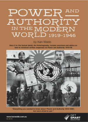 Power and Authority in the Modern World 1919-1946