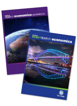 Year 11 Economics:  2020 - Pack [Text + CD + Workbook]