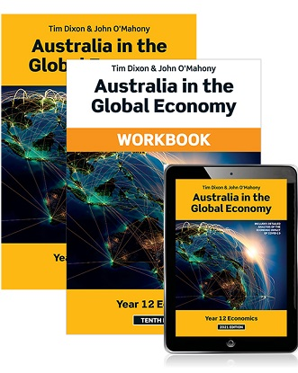 Australia in the Global Economy:  2021 [Text + eBook + Workbook]