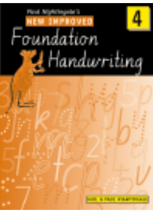 New Improved Foundation Handwriting:  4