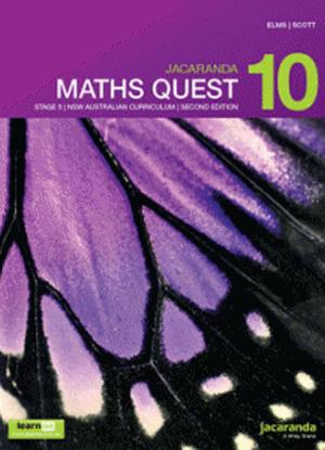 Jacaranda Maths Quest NSW: 10 - Text & LearnON