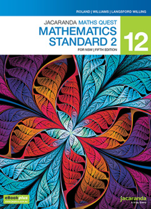 Jacaranda Maths Quest NSW: 12 - Mathematics Standard 2 [Text + eBookPlus]