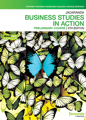 Business Studies in Action:  Preliminary Course [Text + eBookPlus]