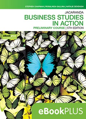 Business Studes in Action:  Preliminary Course [eBookPlus Only]