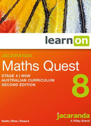 Jacaranda Maths Quest NSW:  8 - LearnON Only [Access Code]