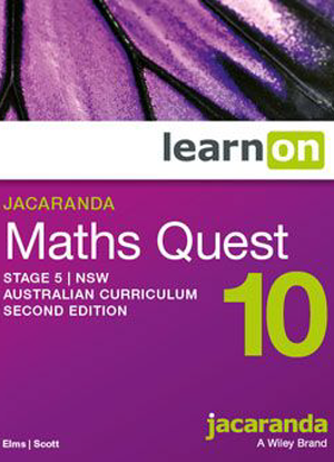 Jacaranda Maths Quest NSW: 10 - LearnON Only [Access Code]