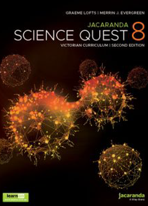 Jacaranda Science Quest:  8 - [Text + LearnON]