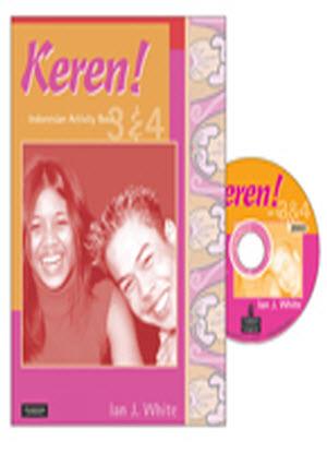 Keren!:  3 & 4 - Activity Pack [Activity Book + CD]