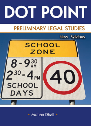 Dot Point NSW:  Preliminary Legal Studies