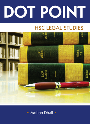Dot Point NSW:  HSC Legal Studies