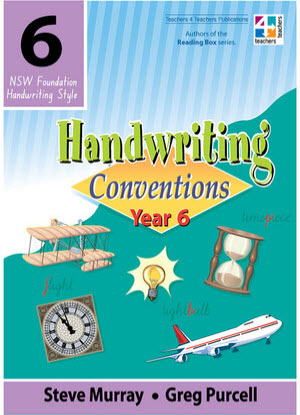 NSW Handwriting Conventions:  Year 6