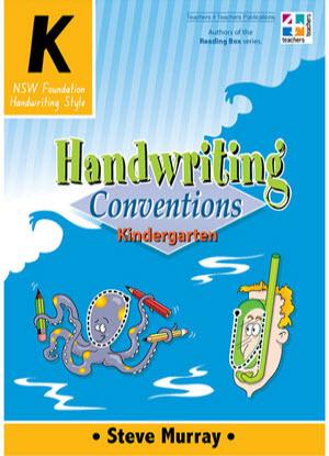 NSW Handwriting Conventions:  Kindergarten