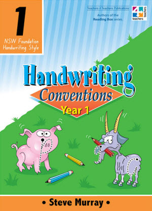 NSW Handwriting Conventions:  Year 1
