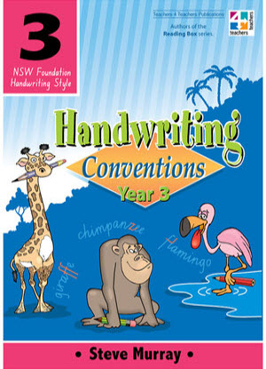 NSW Handwriting Conventions:  Year 3