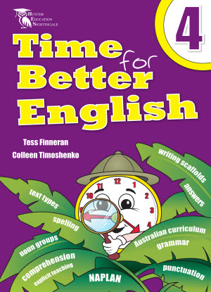 Time for Better English Book 4
