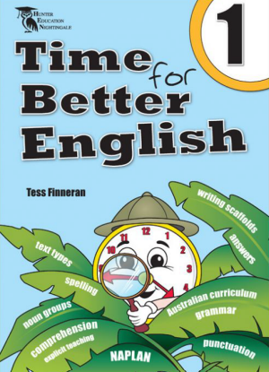 Time for Better English Book 1