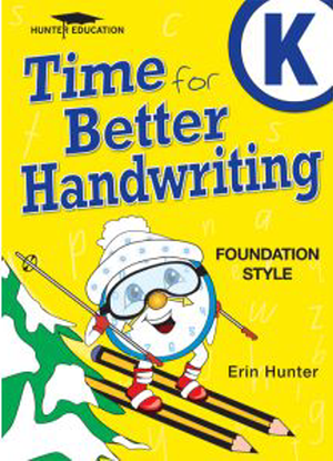 Time for Better Handwriting:  Kindergarten