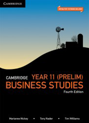 Cambridge Business Studies:  Preliminary [Interactive CambridgeGO Only]