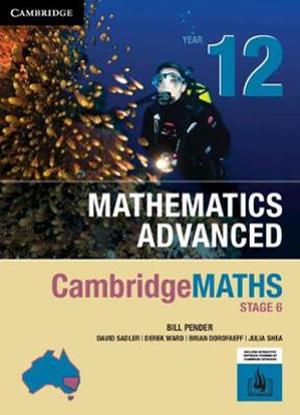 CambridgeMaths Mathematics Advanced:  12 [Text + Interactive CambridgeGO]